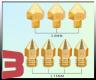 Nozzle MK8 Brass